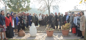 İzmit Belediyesi, başkan eşlerini kahvaltıda ağırladı
