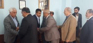 Emniyet Müdürü Metin Alper taziyeleri Adıyaman'da kabul etti