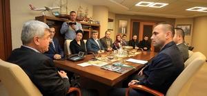 Başkan Karaosmanoğlu, STKtemsilcilerini ağırladı
