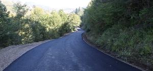 Hendek 86 bin ton asfaltla yenilendi