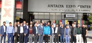 idim Ticaret Odası, Antalya Yapı Fuarına ücretsiz ulaşım sağladı