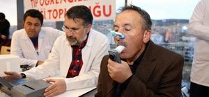 Yozgat'ta vatandaşlara KOAH taraması yapıldı