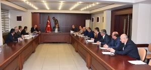 KARÇEV toplantısı Vali Çeber başkanlığında yapıldı