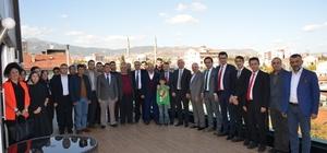 Gediz Meslek Yüksekokulu Müdürü Saraoğlu'na veda yemeği