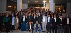 BaşkanKaraosmanoğlu, Mardinli muhtarlarla buluştu