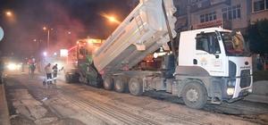 Adana'da asfaltlama çalışmaları aralıksız sürüyor