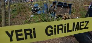 Düzce'de tarım aracı devrildi: 1 ölü, 1 yaralı