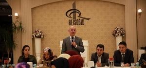 Başkan Toçoğlu, Çevre Koruma Daire Başkanlığı personeliyle bir araya geldi