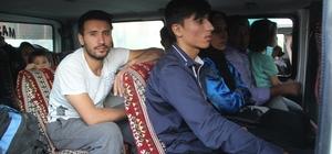 Başkale'de 26 kaçak göçmen yakalandı