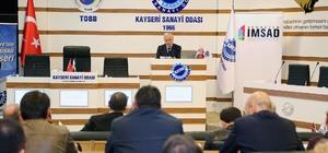İMSAD'Anadolu Buluşmaları'nın dördüncüsü Kayseri'de düzenlendi