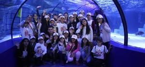 Silopili çocukların rüya gibi Antalya yolculuğu
