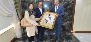 Başkan Polat TRT ekibini misafir etti