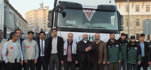 Sivas'tan Suriye'ye yardım