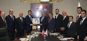 Başbakan Yardımcısı Fikri Işık'tan VANTB'ya ziyaret