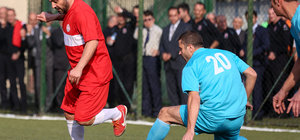 """""""Futbolun Efsaneleri Genç Hükümlülerle Buluşuyor"""" projesi"""