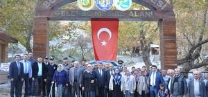 Buharkent'te şehit yakınları ile gaziler buluşturuldu