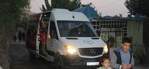 Kulp belediyesinden anaokul öğrencilerine ücretsiz servis aracı