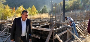 Seydişehir Kuğulu Park'a mescit