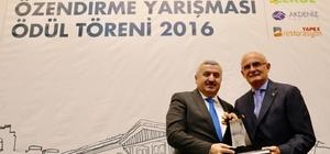 Körfez Belediyesi 'Proje Uygulama Ödülü'ne layık görüldü
