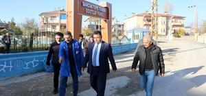 VASKİ Genel Müdürü Tekataş, sorunların çözümü için mahalle ziyaretlerine devam ediyor