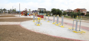 Side'ye modern park