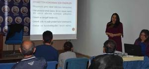 Ortaca'da diyabet semineri