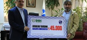 Sakarya Ünversitesi'nden Arakan'a yardım