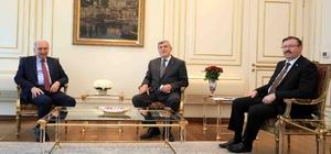 Başkan Karaosmanoğlu, Başkan Uysal'ı ziyaret etti