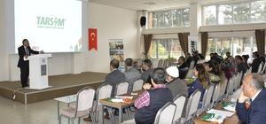 Genç çiftçilere TARSİM bilgilendirme toplantısı yapıldı