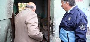 Konak'ta çöp evlere anından müdahale