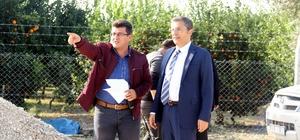 Akdeniz'de imarlı ve kadastral yeni yol açma çalışmaları devam ediyor