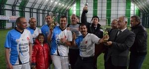 Kurumlar arası futbol turnuvası sona erdi