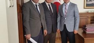 SGK İl Müdürü Turan, Bulanık Kaymakamı ve Belediye Başkan Vekili Uzan'ı ziyaret etti