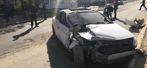 Muş'ta zincirleme kaza: 3 yaralı