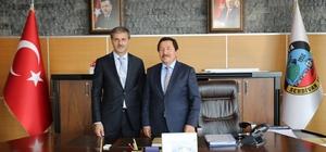 Vali Balkanlıoğlu'ndan Başkan Alemdar'a taziye ziyareti