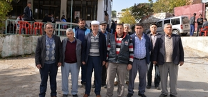uhtarlardan Başkan Çerçioğlu'na teşekkür