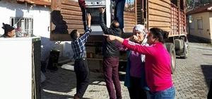 AK Parti Mihalıççık Kadın Kolları'ndan yardım eli