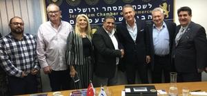AKİB, kereste- palet sektörüyle İsrail'e çıkarma yaptı