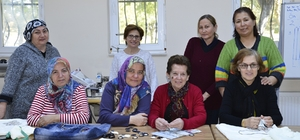 Şarhöyüklü kadınlar mefruşat kursunda buluşuyor