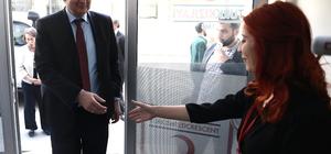 AB Türkiye Delegasyonu Başkanı Büyükelçi Berger Kilis'te: