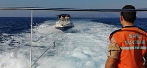 ürat teknesinde 18 kaçak göçmen yakalandı