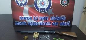 Manavgat'ta uyuşturucu taciri tutuklandı