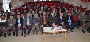 Alaçam'da avcılar ile vatandaşların sorunları masaya yatırıldı