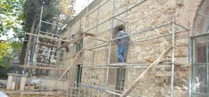 Ulu Cami'de restorasyon çalışmaları hızlandı
