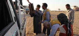 İyilikder'den Suriyelilere soba yardımı