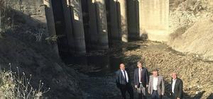 Başkan Özkan, kanal ıslah çalışmalarını inceledi