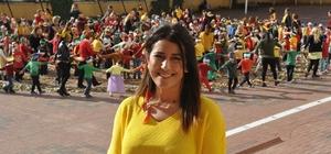 GKV'de 290 öğrenci 45 öğretmenle Sonbahar Dansı