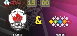 Bilecik Belediyespor Basketbol Takımı bu hafta Kayseri İstemspor ile karşılaşacak