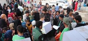Suriyelilere insani yardım
