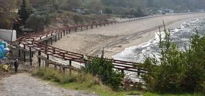 Güzelcehisar sahilindeki peyzaj uygulama projesi